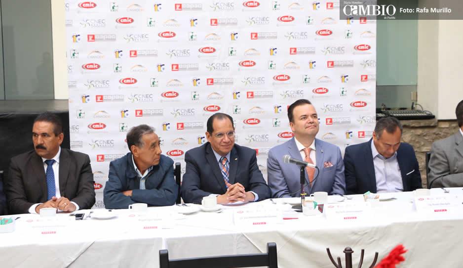 Inversión en la industria de la construcción disminuyó 17% en Puebla