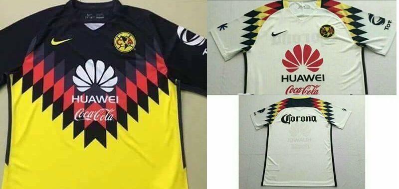 Filtran nueva camiseta del club am rica un tributo a las for Cuarto uniforme del club america