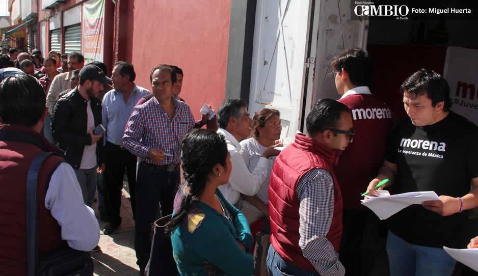 Perfila Morena a Miguel Barbosa como candidato a gobernador de Puebla