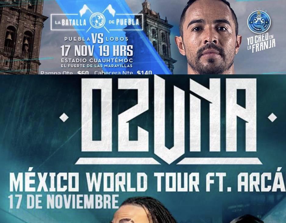 Puebla y Lobos BUAP abren, Atlas por boleto