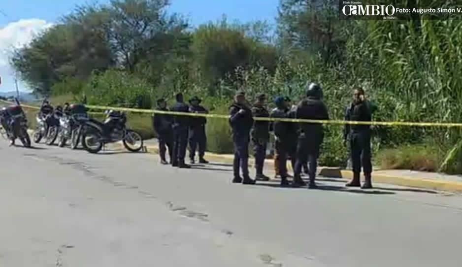 Hallan cadáver de mujer en dren en Tehuacán