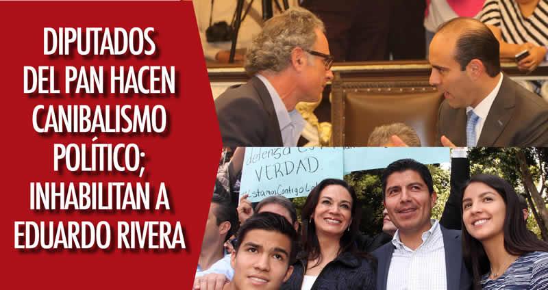 Inhabilitación de Eduardo Rivera obedece a dictamen de la ASE
