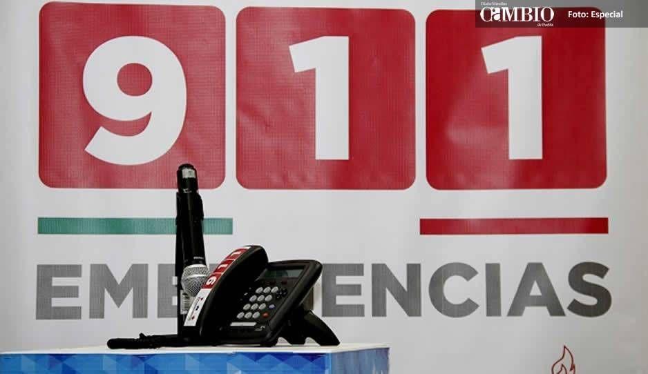 Detienen a hombre en Cholula por 17 llamadas falsas al 911