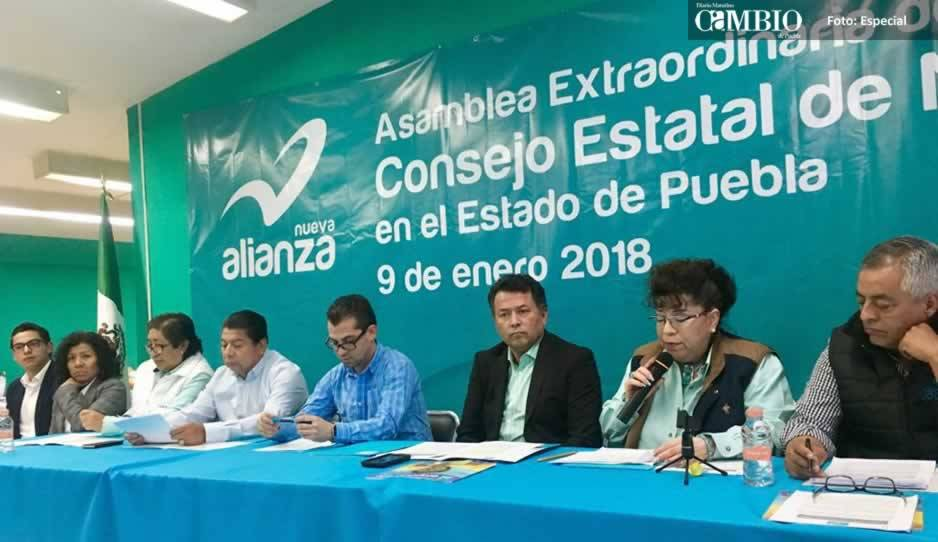 Nueva Alianza pide luz verde para emitir convocatorias para candidatos