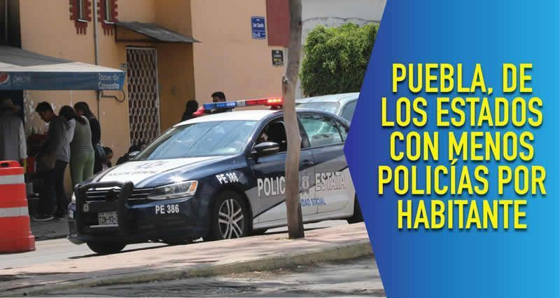 Policías en México ganan en promedio 31.3 pesos por hora