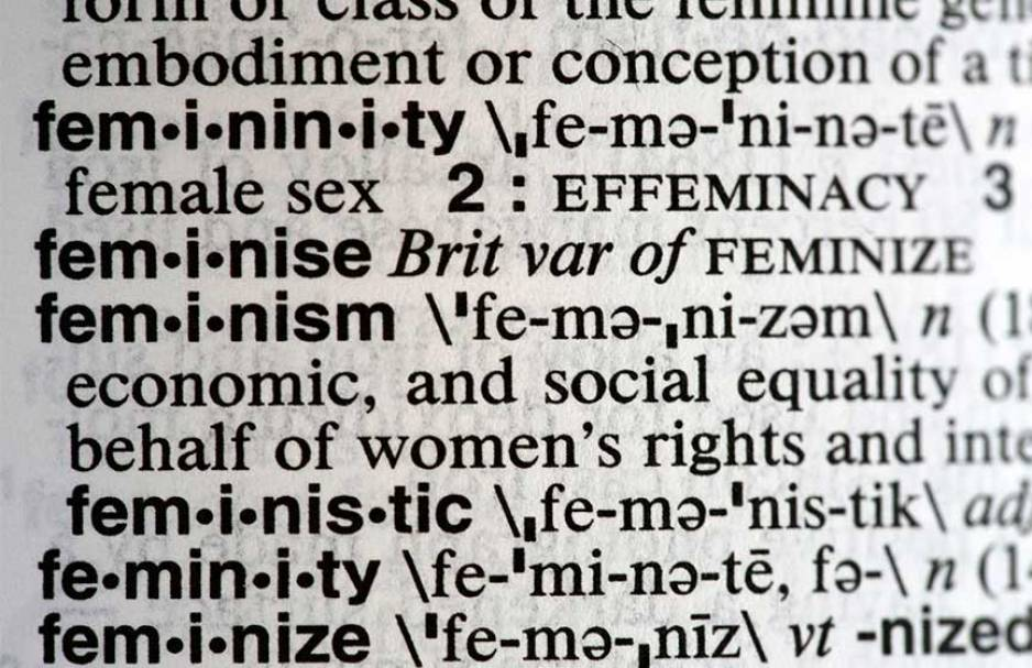 La palabra de 2017 para Merriam-Webster — Feminismo