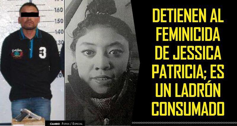 Cae en Cholula el feminicida de Jessica Pérez
