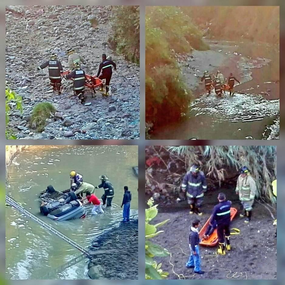 Cae auto al río Alseseca; hay un muerto y tres heridos