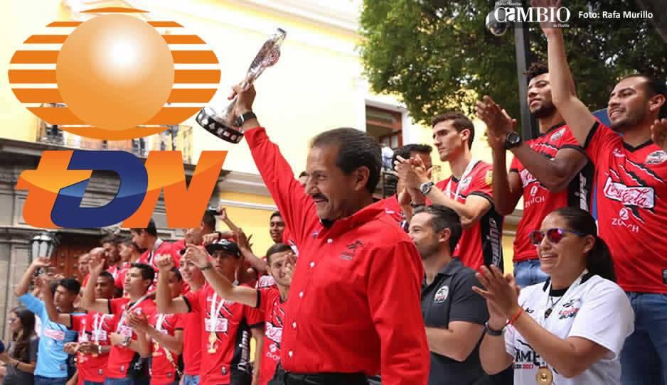 Lobos BUAP llega a Televisa
