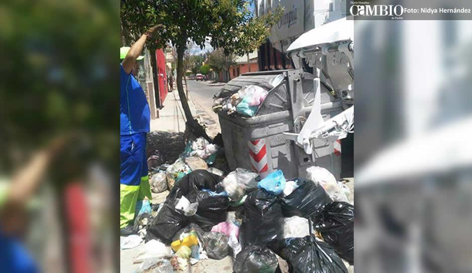 Culpan a Ernestina Fernández de montoneras de basura en Tehuacán