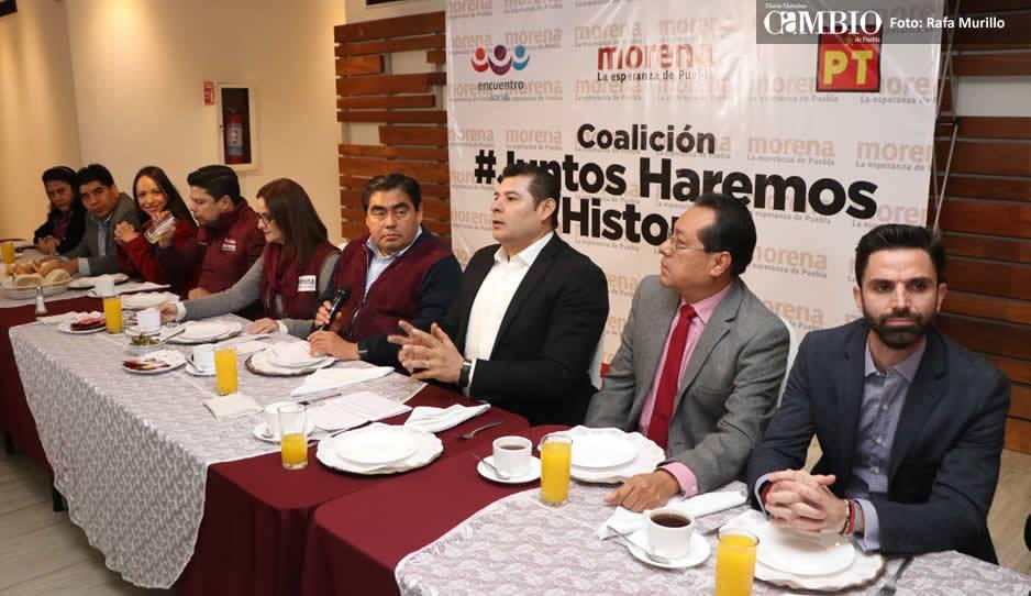 Consolidan alianza en Querétaro PES, PT y Morena