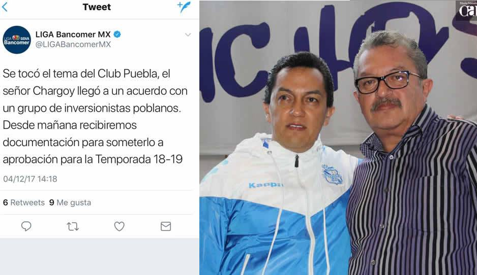 Henaine gana demanda y deja al Puebla sin nombre y escudo