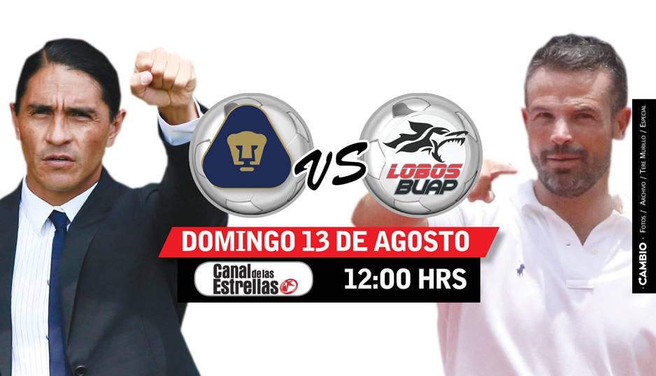 Pumas enfrentará a Lobos para sumar y respaldar a técnico