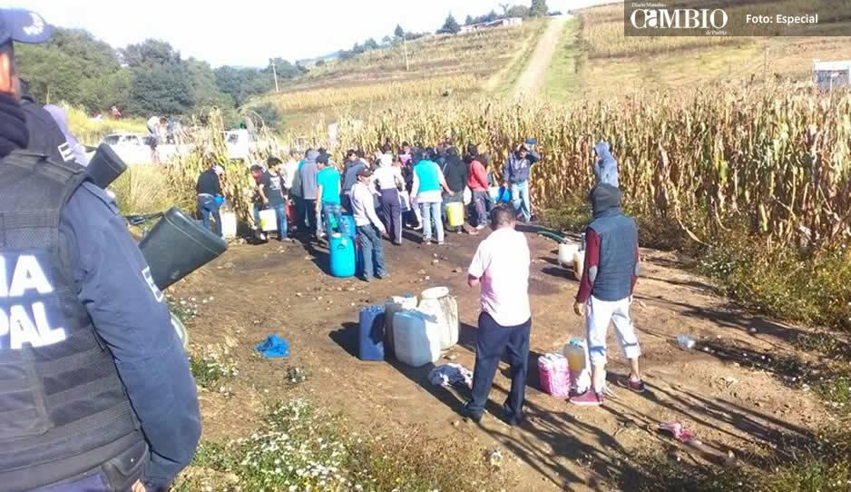 Fugas causan rapiña e incendio en Tlalancaleca