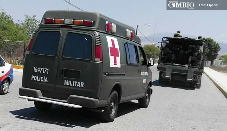 Ordeñadores de combustible disparan a elementos del Ejército en Puebla