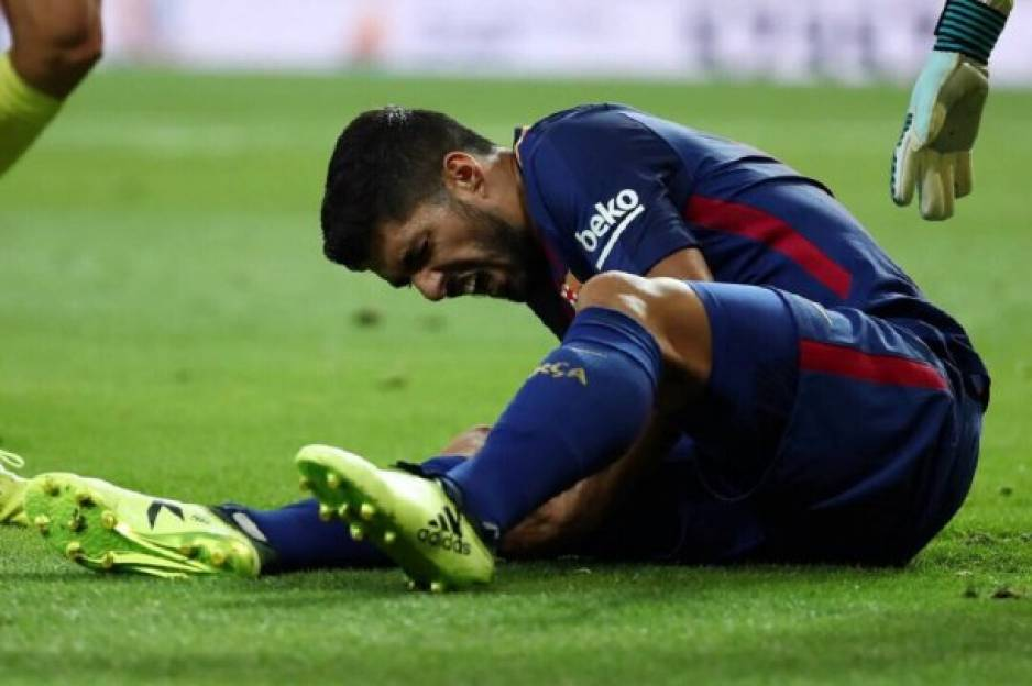Barcelona: club azulgrana enfrentado con Uruguay por lesión de Luis Suárez