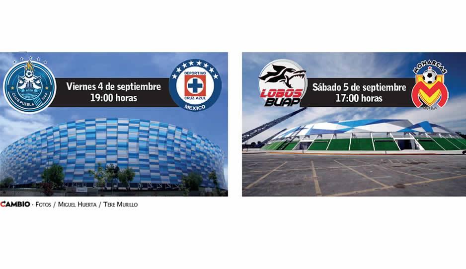 Puebla confía en terminar con invicto de Cruz Azul