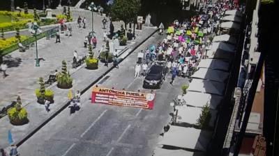 Antorcha Campesina provoca caos en todo Puebla con diferentes manifestaciones