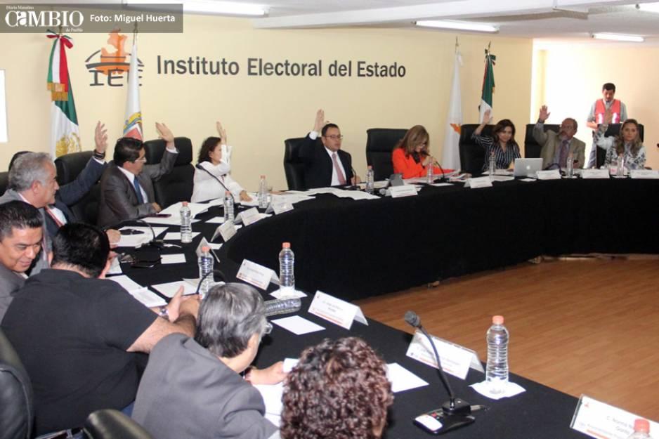 Alista el IEE calendario electoral para Puebla