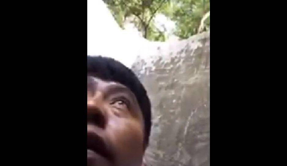 Diputado mexicano pide ayuda por Facebook Live desde un pozo de agua