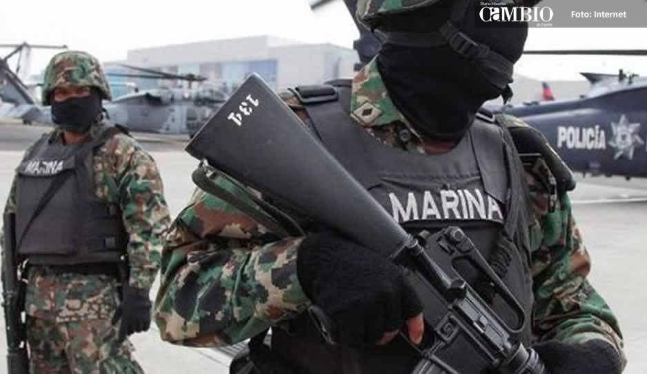 Muere marino tras enfrentamiento en Tecamachalco