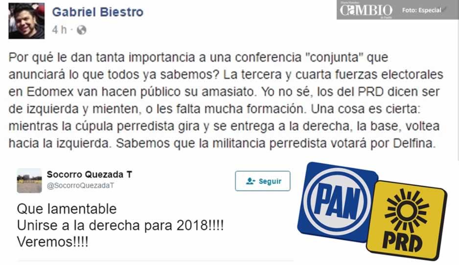 PRD y PAN irán juntos por la presidencia de México en 2018