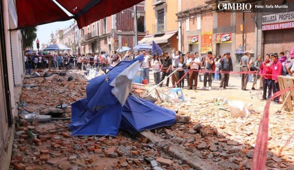 Protección Civil reporta daños en varios puntos de la Ciudad de México