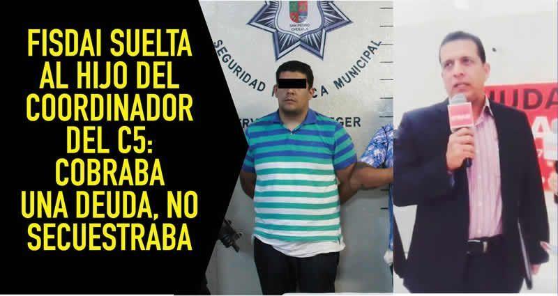 Renuncia director del C5 tras detención de su hijo por secuestro