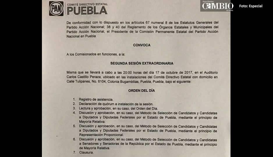 Propone PAN-Puebla elección abierta para candidatos a legisladores