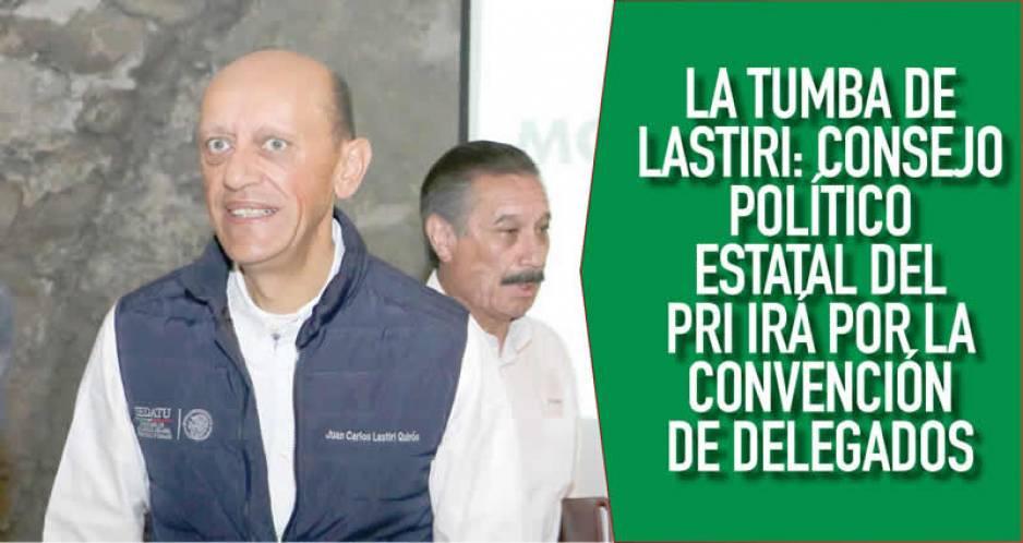 PRI elegirá a candidato de Puebla, mediante Convención de Delegados