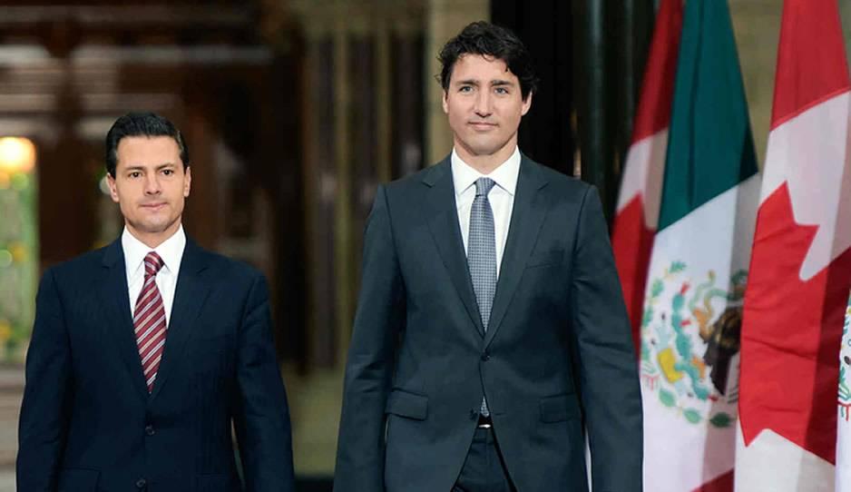 Justin Trudeau visitará México para reunirse con Peña Nieto