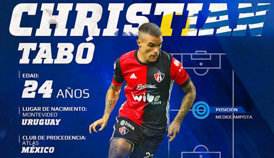 Christian Tabó y Diego Cruz, nuevos refuerzos del Club Puebla