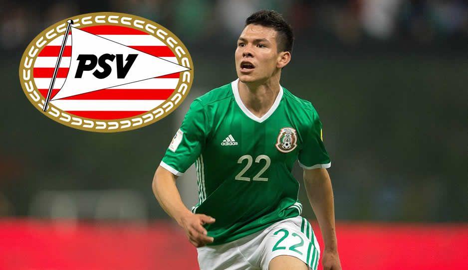 Chuky Lozano firmará con el PSV tras la Confederaciones