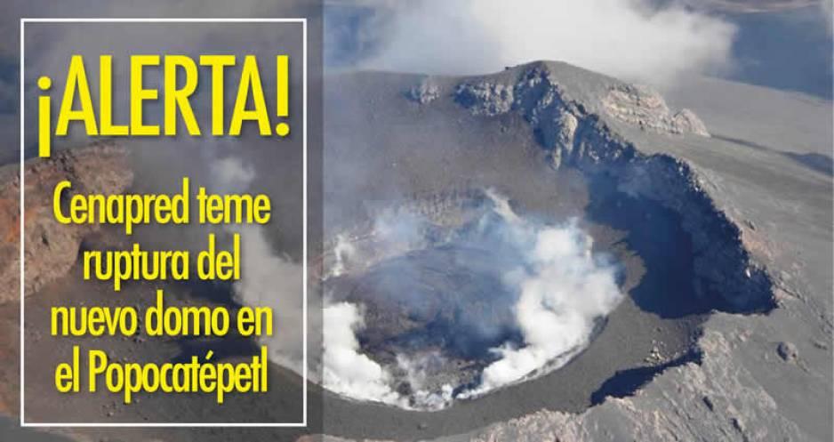 Actividad inusual del Popocatépetl preocupa a científicos
