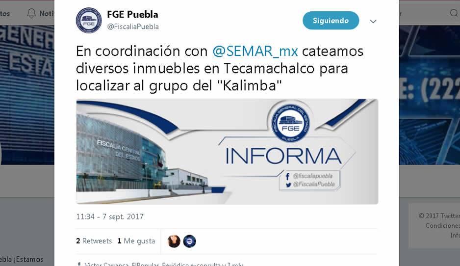 Muere marino en Puebla durante operativo contra grupo huachicolero de