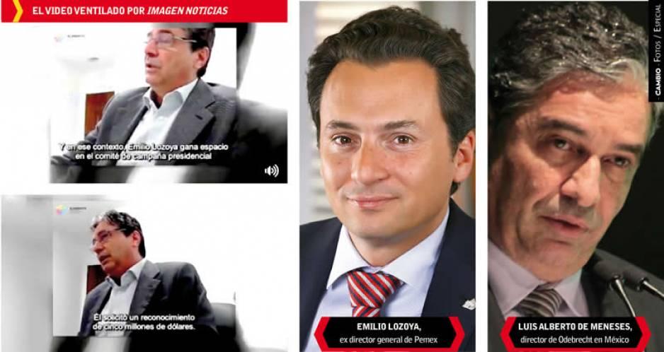 Odebrecht pagó 10 millones de dólares a Emilio Lozoya, asegura delator