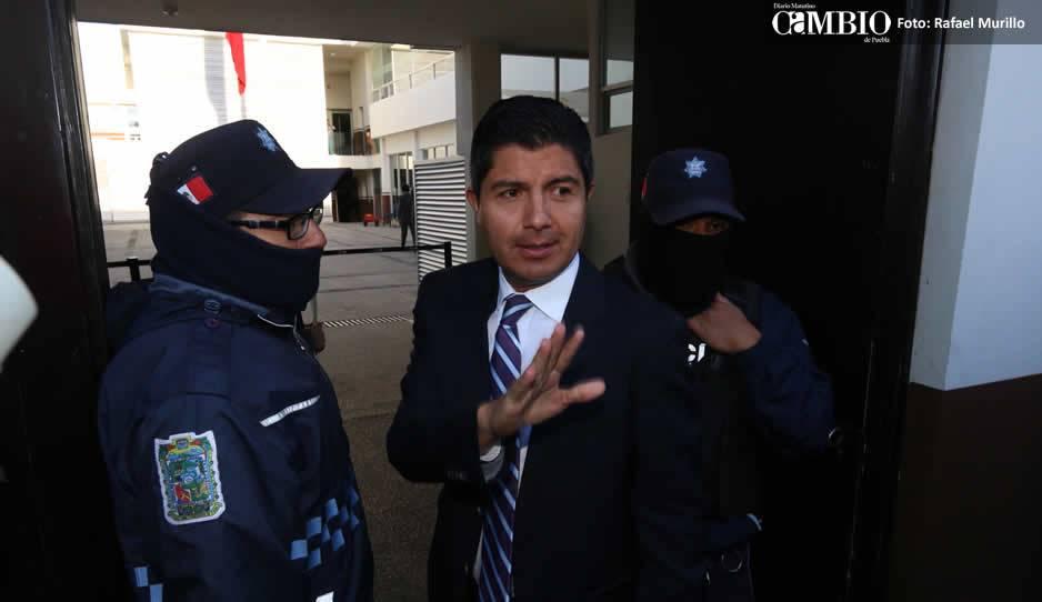 Suspenden juicio de amparo promovido por Eduardo Rivera