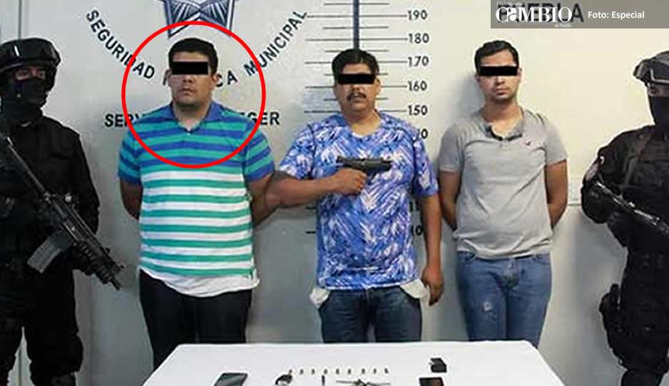 Detienen a hijo del coordinador del C5 Puebla por secuestro
