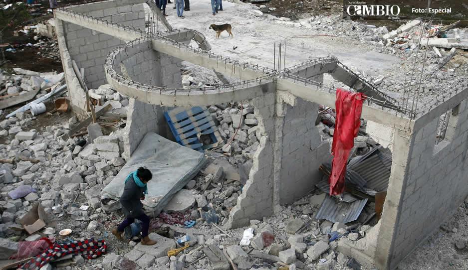 Gobierno de Gali continúa con monitoreo a víctimas de explosión en Chilchotla