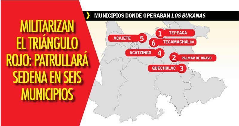 Militarizan el Triángulo Rojo: patrullará Sedena en seis