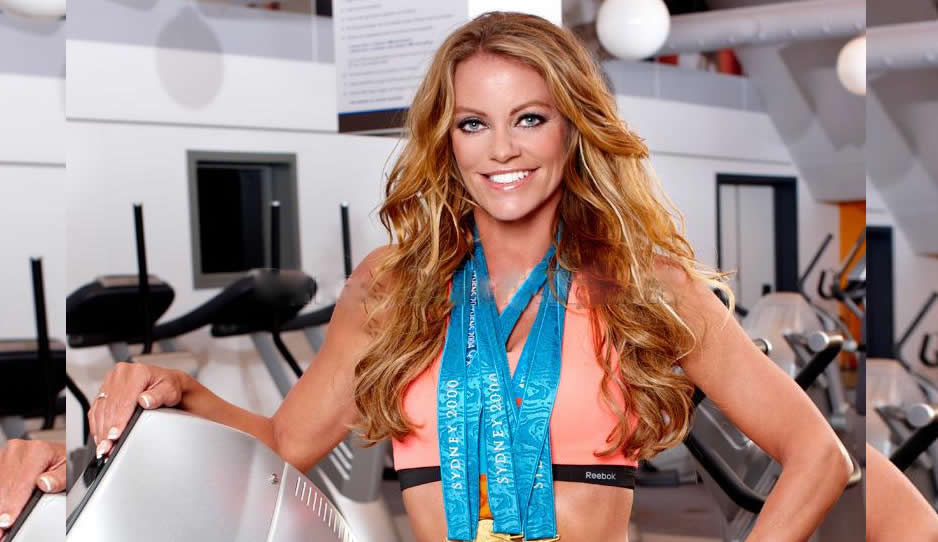 Una medallista olímpica se desnudó en un reality show para encontrar pareja