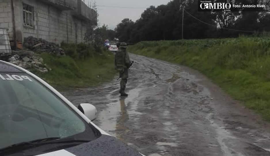 Ejecutan a 6 policías en Amozoc, Puebla