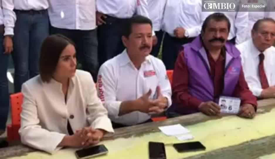 Candidata del Panal en San Pedro renuncia a sus aspiraciones y se suma a Arriaga