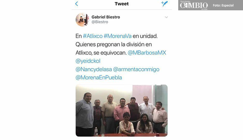 Morena oficializa a Eleazar Pérez por la alcaldía de Atlixco