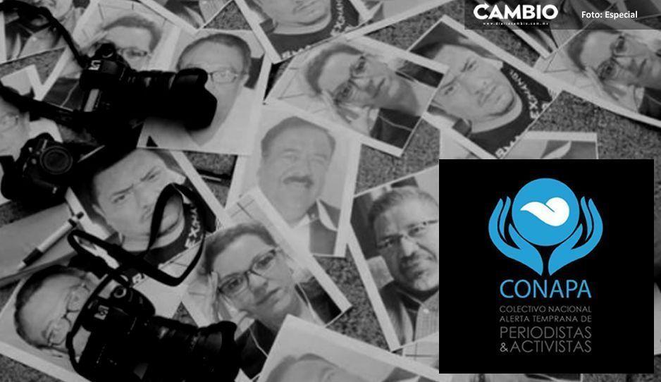 CONAPA exige a AMLO; justicia para los periodistas desaparecidos, torturados y asesinados