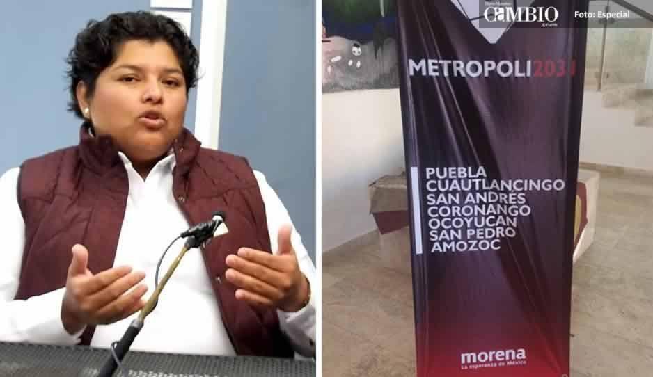 Candidata de Morena en San Andrés rompe con los demás abanderados de la zona metropolitana