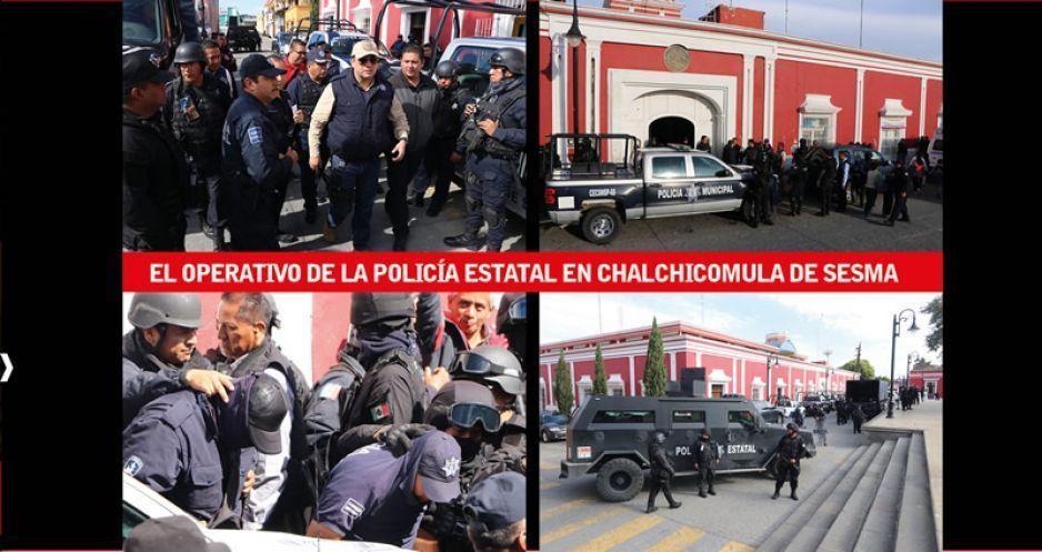 Ahora en Ciudad Serdán: SSP asume la seguridad pública mediante decreto (VIDEOS)