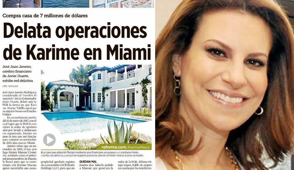 Karime Macías, compró casa en Miami de 7mdd