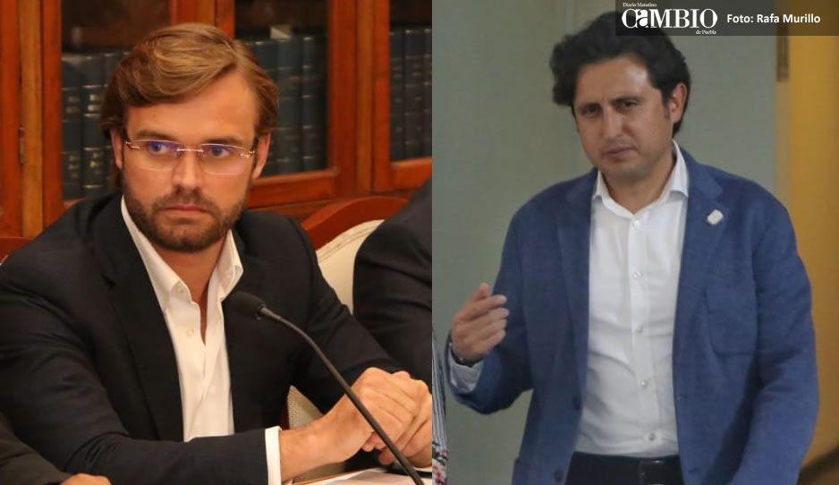 JJ y Xabier Albizuri protagonizan pleito en sesión de la comisión de Infraestructura