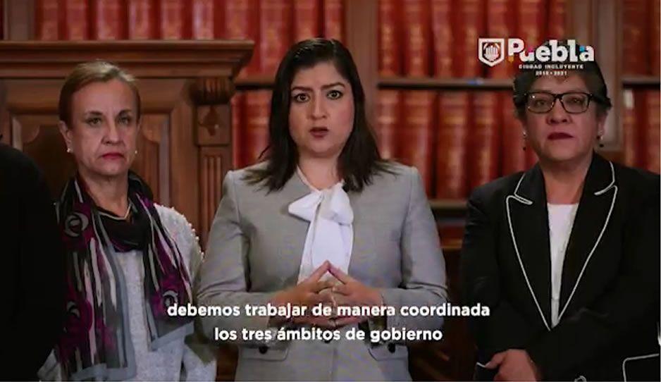 Claudia Rivera pide no generar rumores en torno a la muerte de la gobernadora y su esposo (VIDEO)